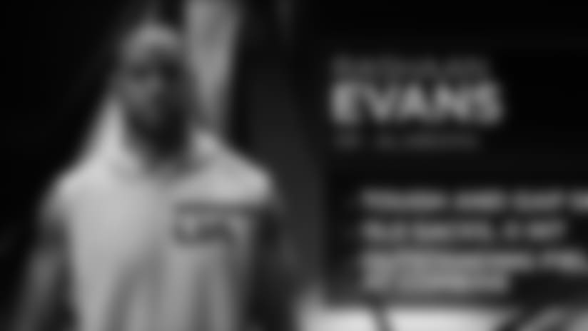 Instant Draft Grade Rashaan Evans: B+