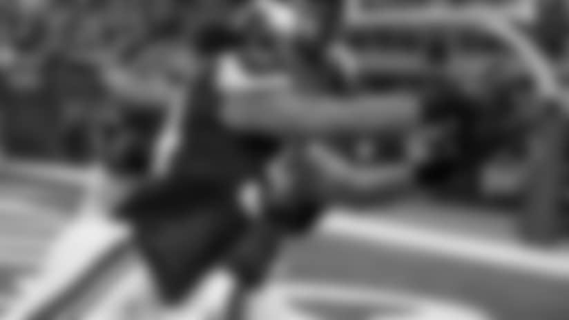 Kendricks Picks Off Dalton, Returns It For A TD