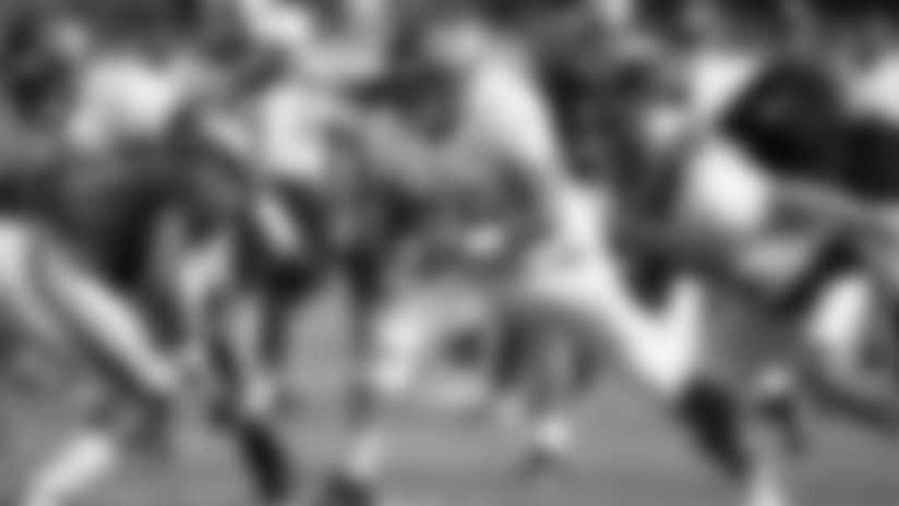 NOTEBOOK: Collins Brings Nasty Streak While Juggling O-Line Spots