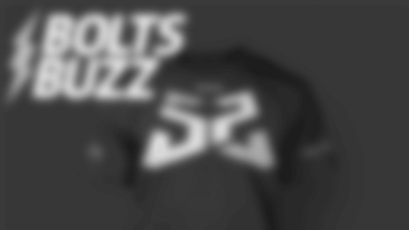 Bolts Buzz 9/23: Rock 52 Off the Field