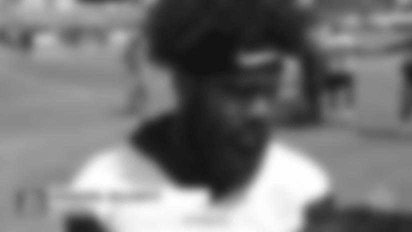 Ezekiel Elliott: On Helmet Rule; Pass Catching
