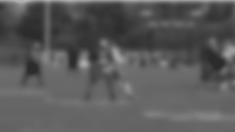 Top Play: Eli Apple picks off Matthew Stafford