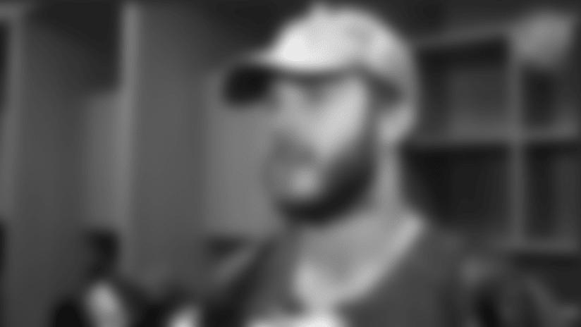 Nate Stupar Postgame Interview vs Seahawks