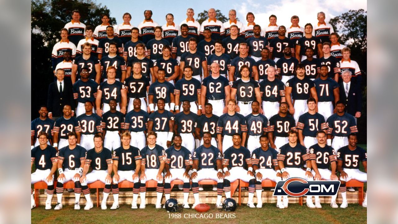 finest selection f7ba2 f6763 Chicago Bears Team Photos