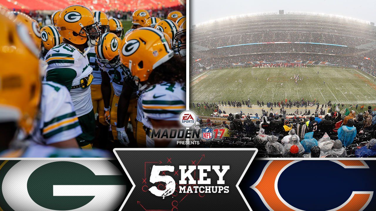 1. The Packers vs. The Cold