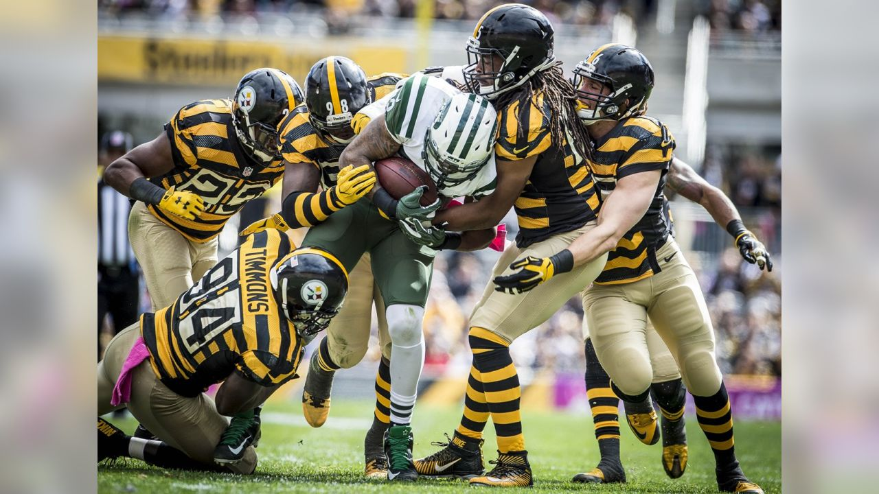 Lawrence Timmons, Mike Mitchell, Vince Williams, Jarvis Jones and Anthony Chickillo