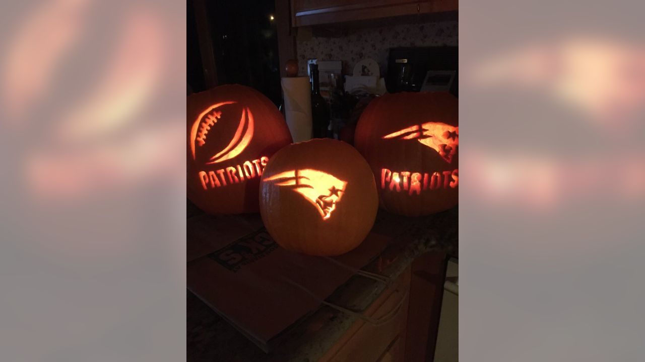 Pumpkin Carving Patriots Style