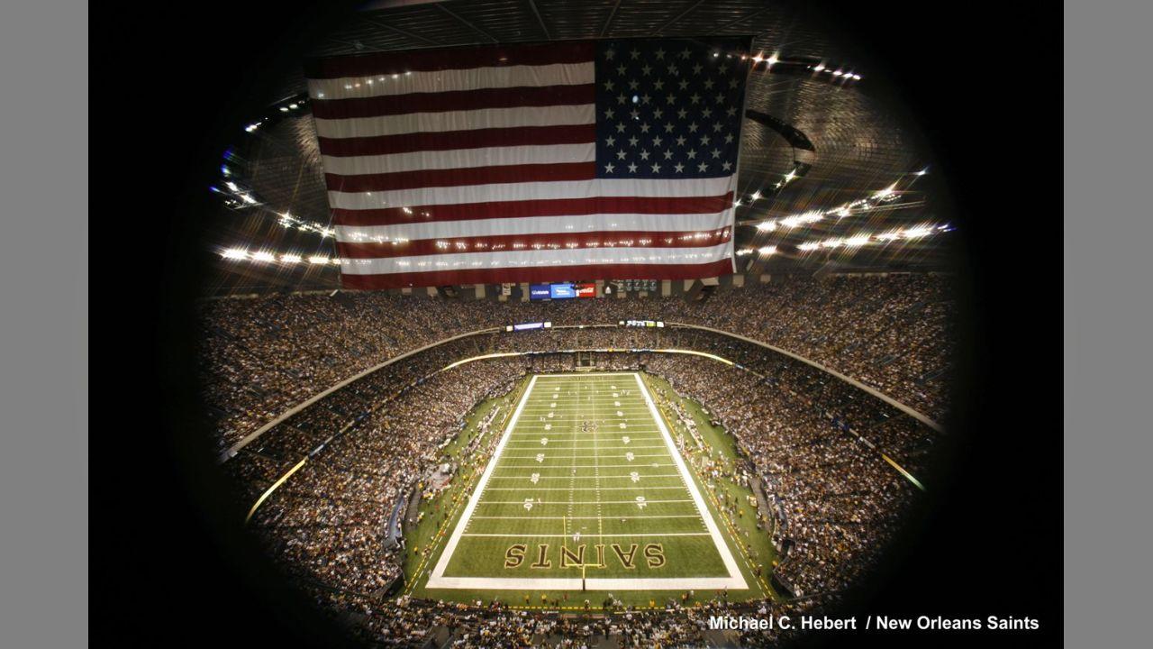 New Orleans Saints Return To Superdome
