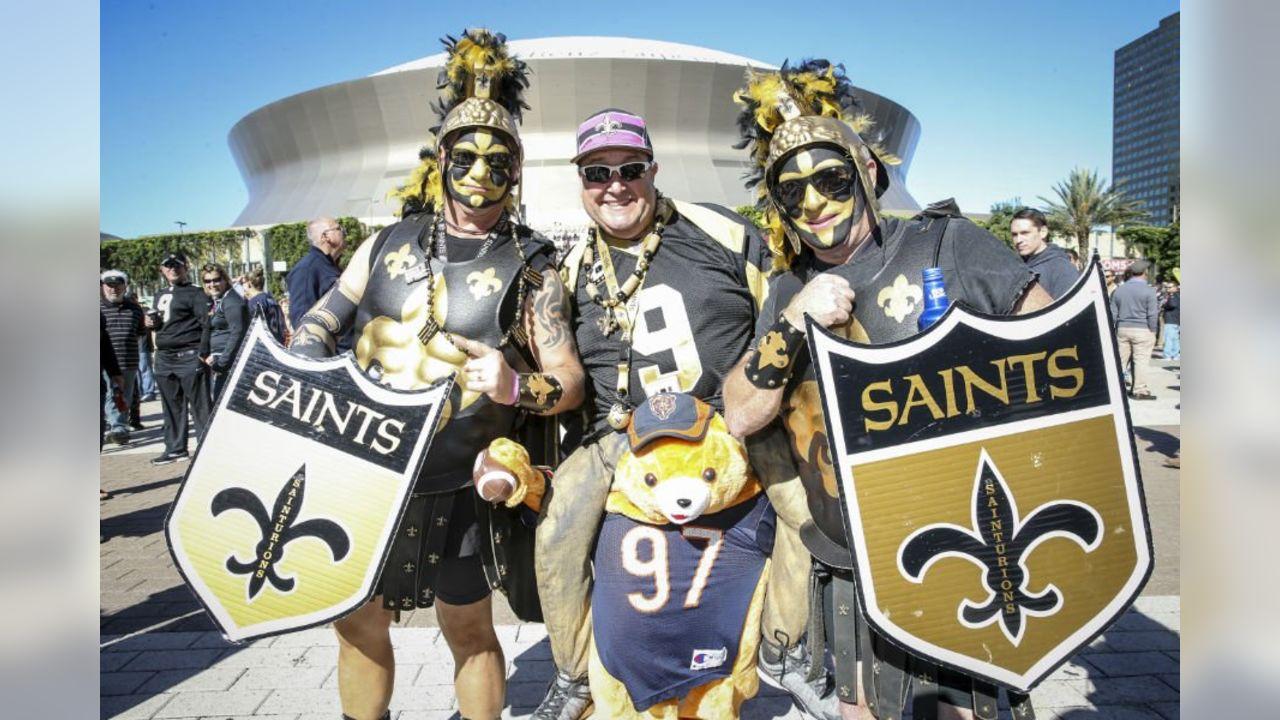 Saints Fans Celebrate Halloween