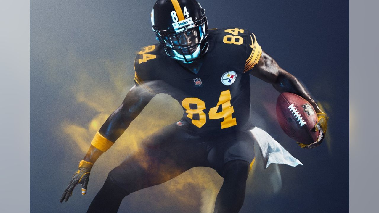steelers color rush limited jersey