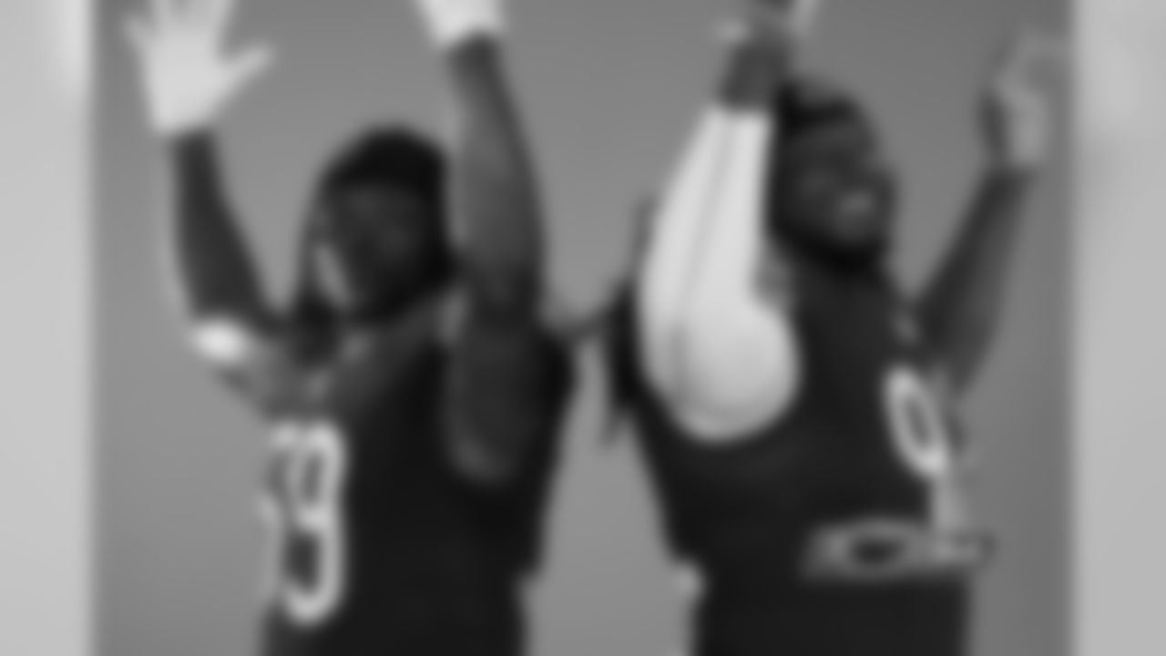 LB Danny Trevathan (59) and LB Pernell McPhee (92)