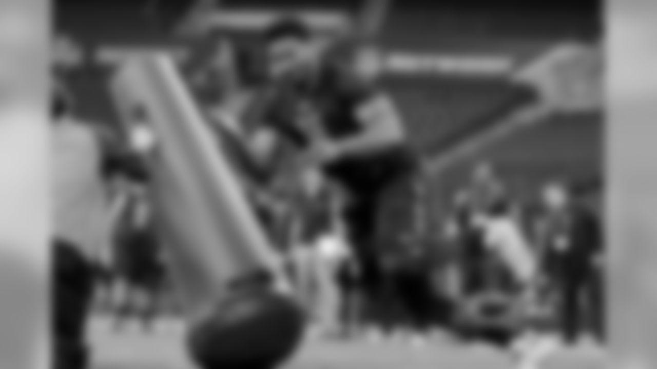 Texas A&M defensive end Myles Garrett. (AP Photo/Michael Conroy)
