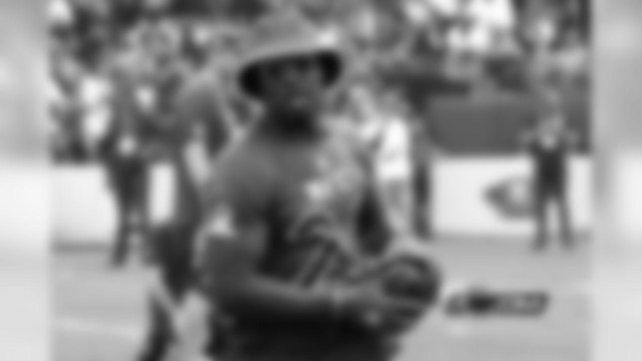 RB Jordan Howard (Photo from 2017 Pro Bowl practice)