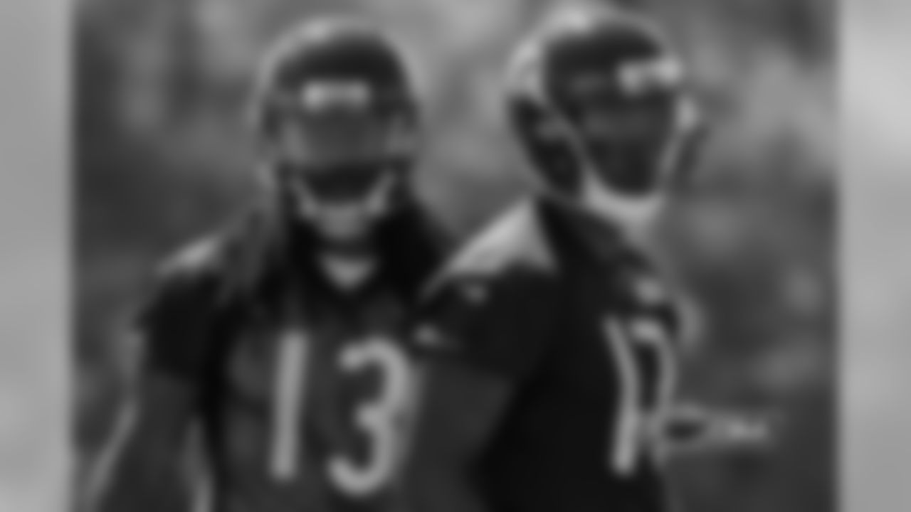 WR Kevin White and WR Alshon Jeffery