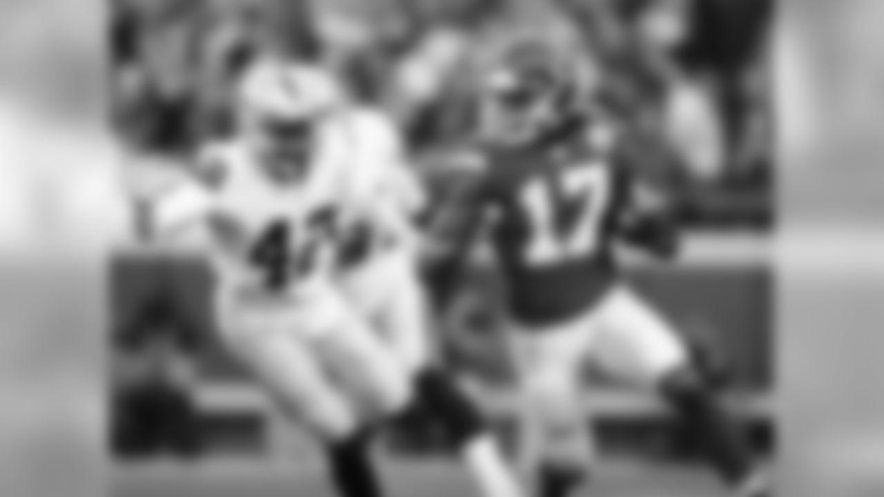 Kansas City Chiefs wide receiver Chris Conley (17)