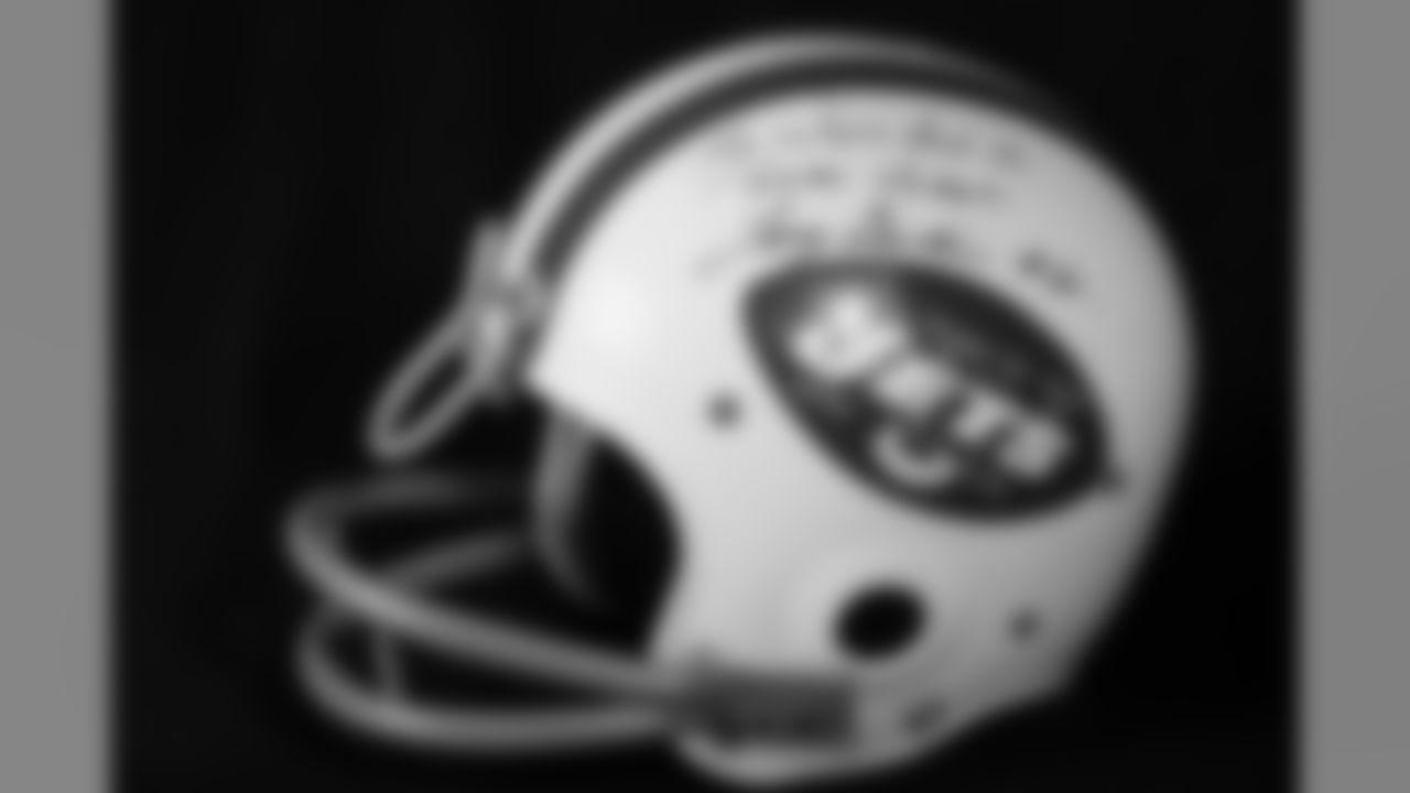 ROH Larry Grantham's Super Bowl III Worn Helmet