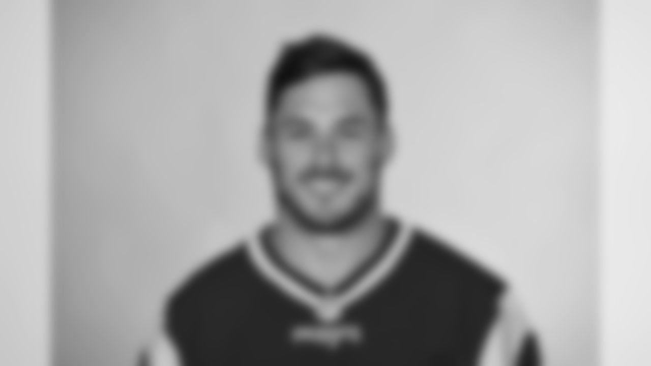This is a 2016 photo of Danny Amendola of the New England Patriots NFL football team.  This image reflects the New England Patriots active roster as of May 25, 2016 when this image was taken. (AP Photo)