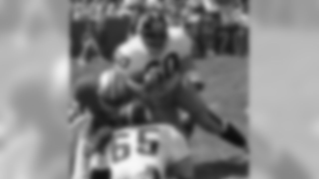 1964 Ben McGee: When Chuck Noll famously told the team he inherited that many of them werent good enough to help the Steelers eventually win a Super Bowl, Ben McGee wasnt one of those to whom he was referring. McGee played 120 games along the defensive line over nine seasons with the Steelers, and he was voted to the Pro Bowl twice. He retired after the 1972 AFC Championship Game loss to Miami.
