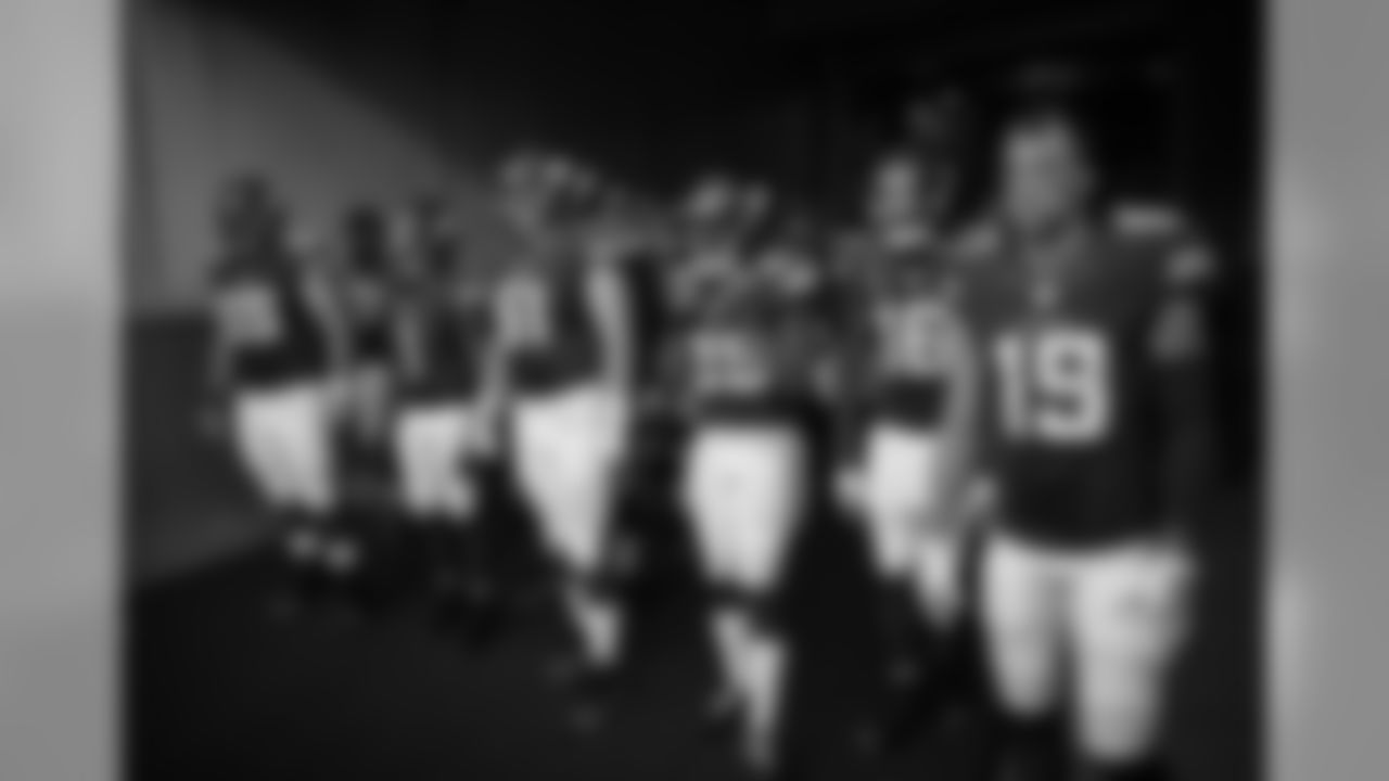 Players take the field before the August 12, 2016 preseason away game against the Cincinnati Bengals. The Vikings won 17-16