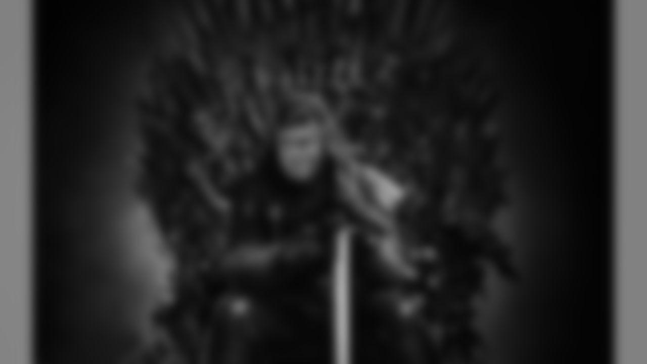 Mike Zimmer as Eddard Stark