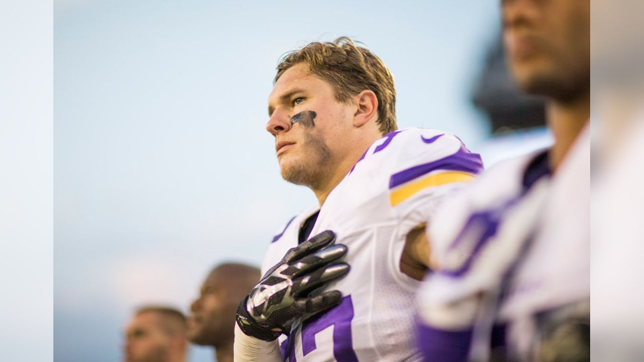 Recovered Audie Cole Ready to Return to Vikings