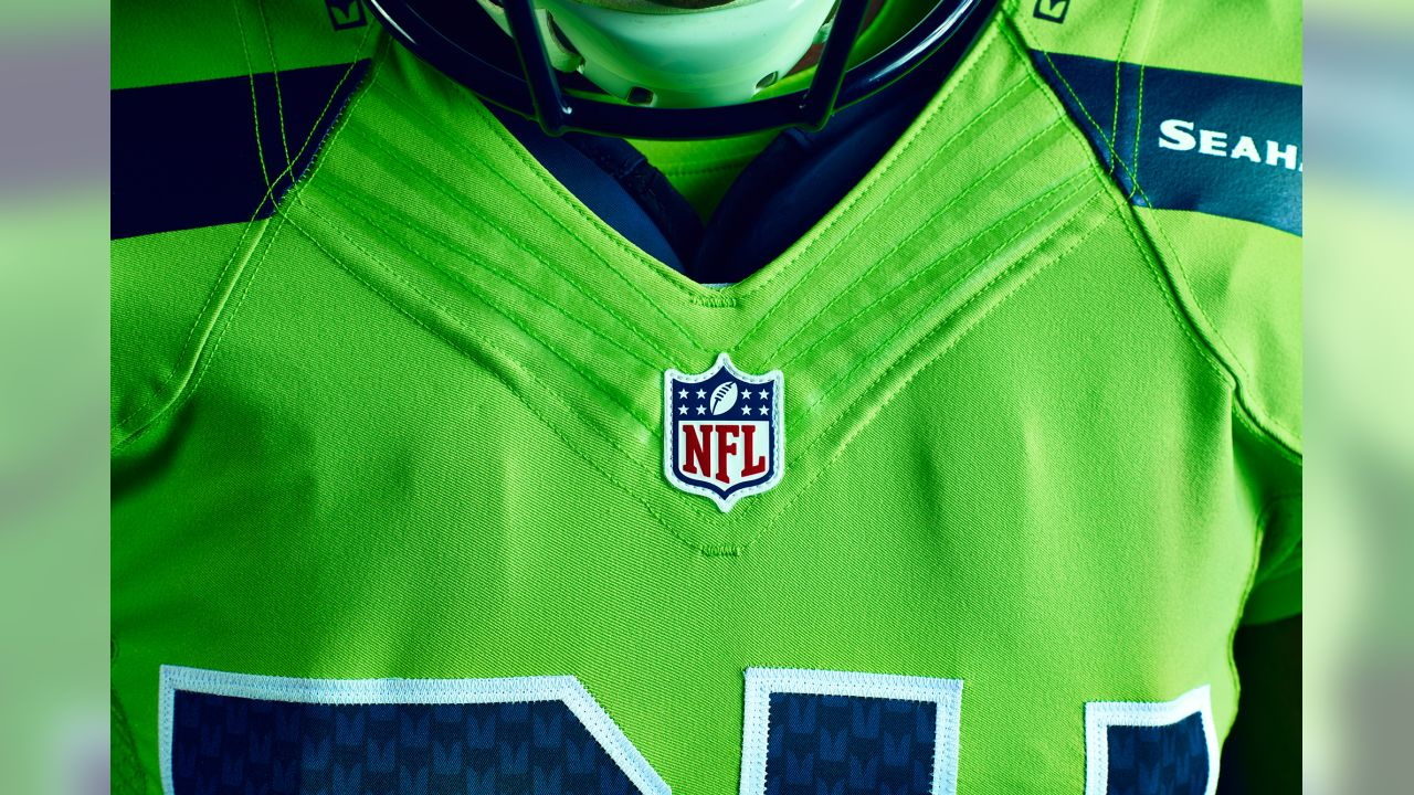 Seattle Seahawks Unveil Action Green Color Rush Uniform 08e215477