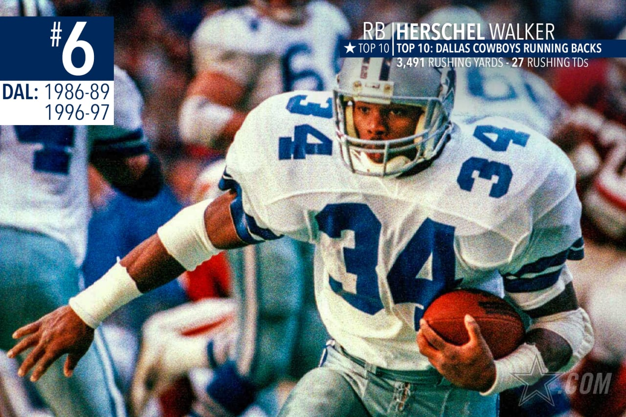 Herschel Walker was with the Cowboys only 3½ seasons the first time around, but his value might have been highest in the trade to Minnesota in 1989 that brought the Cowboys three players and a slew of draft choices that stocked those three Super Bowl teams.