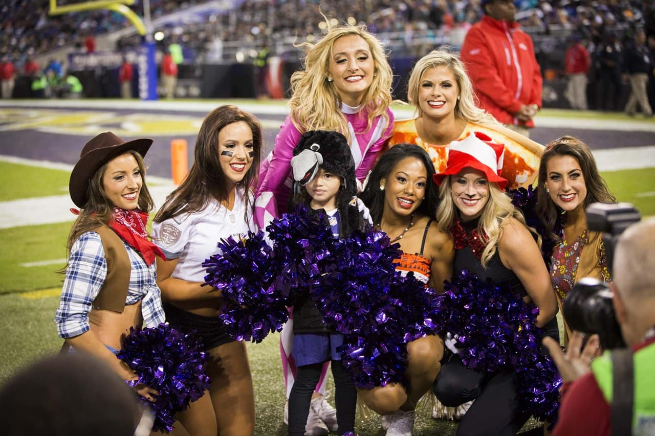 sc 1 st  Baltimore Ravens & Ravens Cheerleader Halloween Costumes