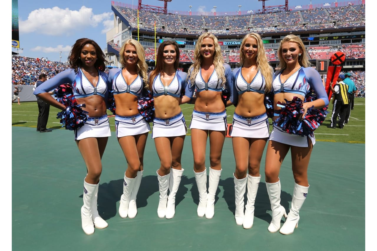 Image result for titans cheerleaders