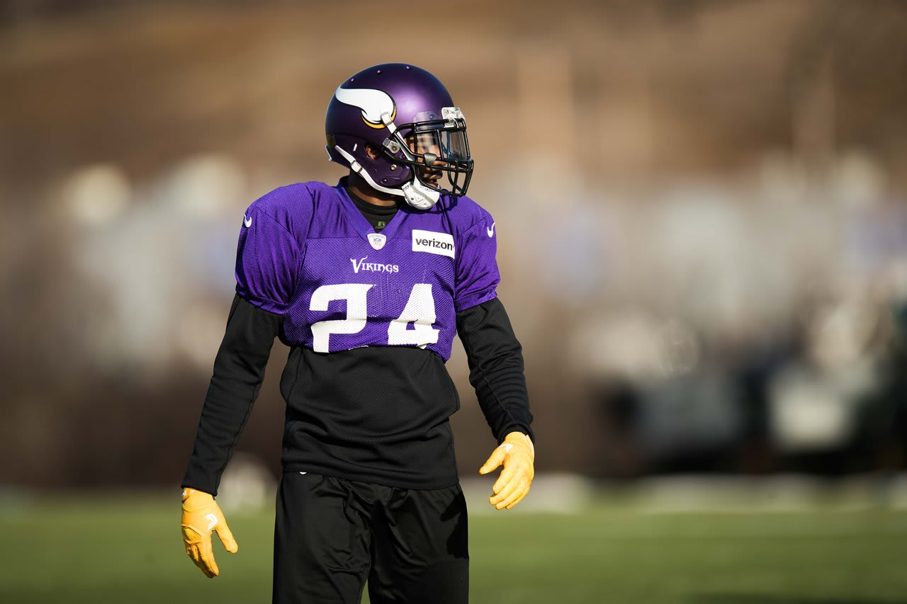 cbd5d1c17 NOTEBOOK  Griffen Says Vikings Have  Laser-Point  Focus on Falcons