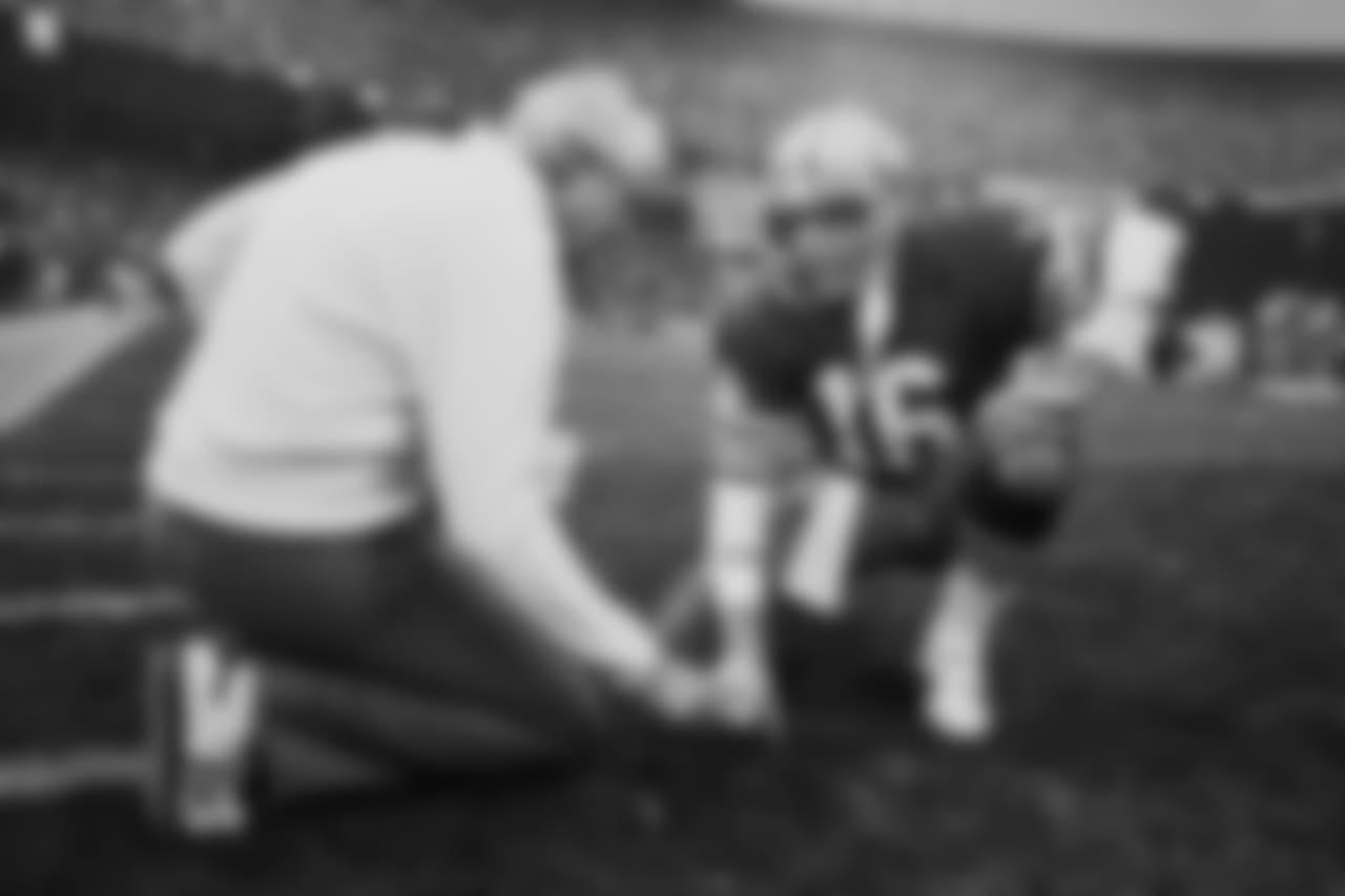 Bill Walsh and QB Joe Montana