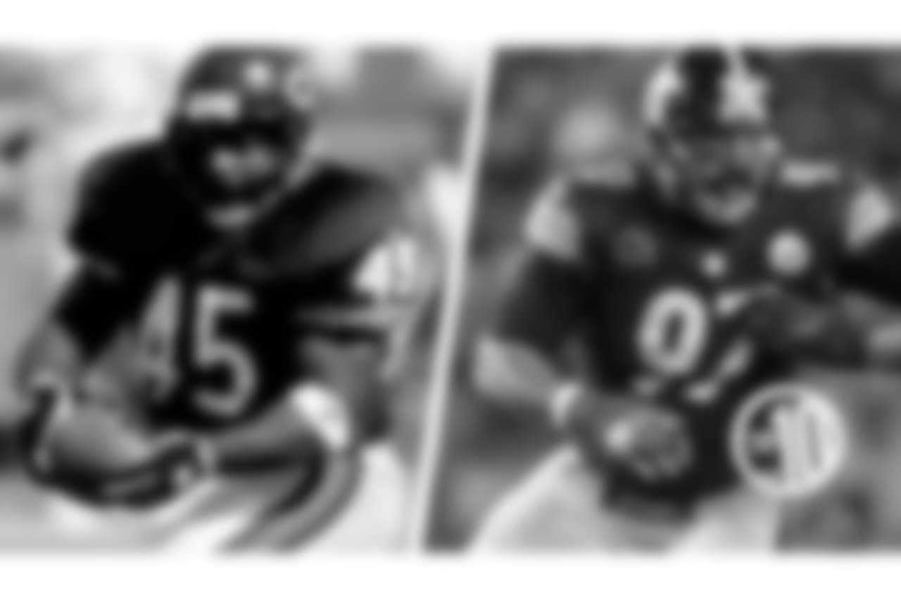 """10. Craig and Cameron Heyward  A huge running back nicknamed """"Ironhead,"""" Craig spent one season with the Bears in 1993, while his son Cameron is a defensive end entering his ninth year with the Steelers."""