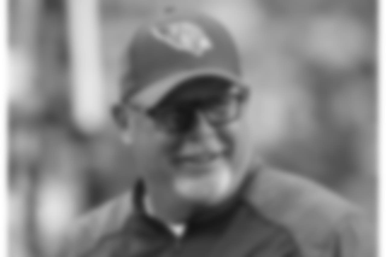 Bruce Arians on the sidelines