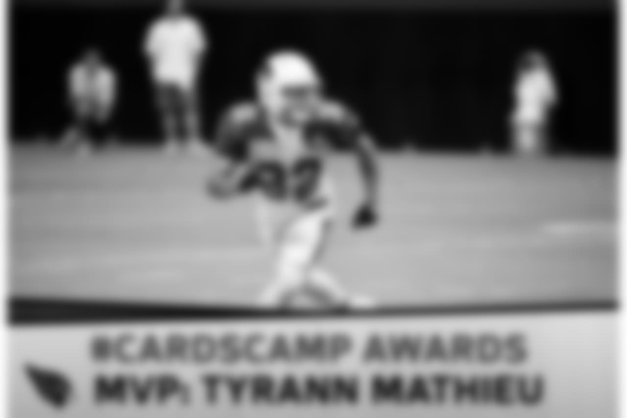 S Tyrann Mathieu was never quite right in 2016 as he continued to recover from a torn ACL. He was back to his All-Pro form in camp, picking off numerous passes and blanketing receivers consistently.