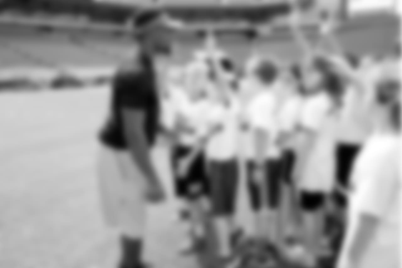 The Eagles hosted 125 elementary school students at Lincoln Financial Field for an NFL PLAY 60 Field Day Challenge!