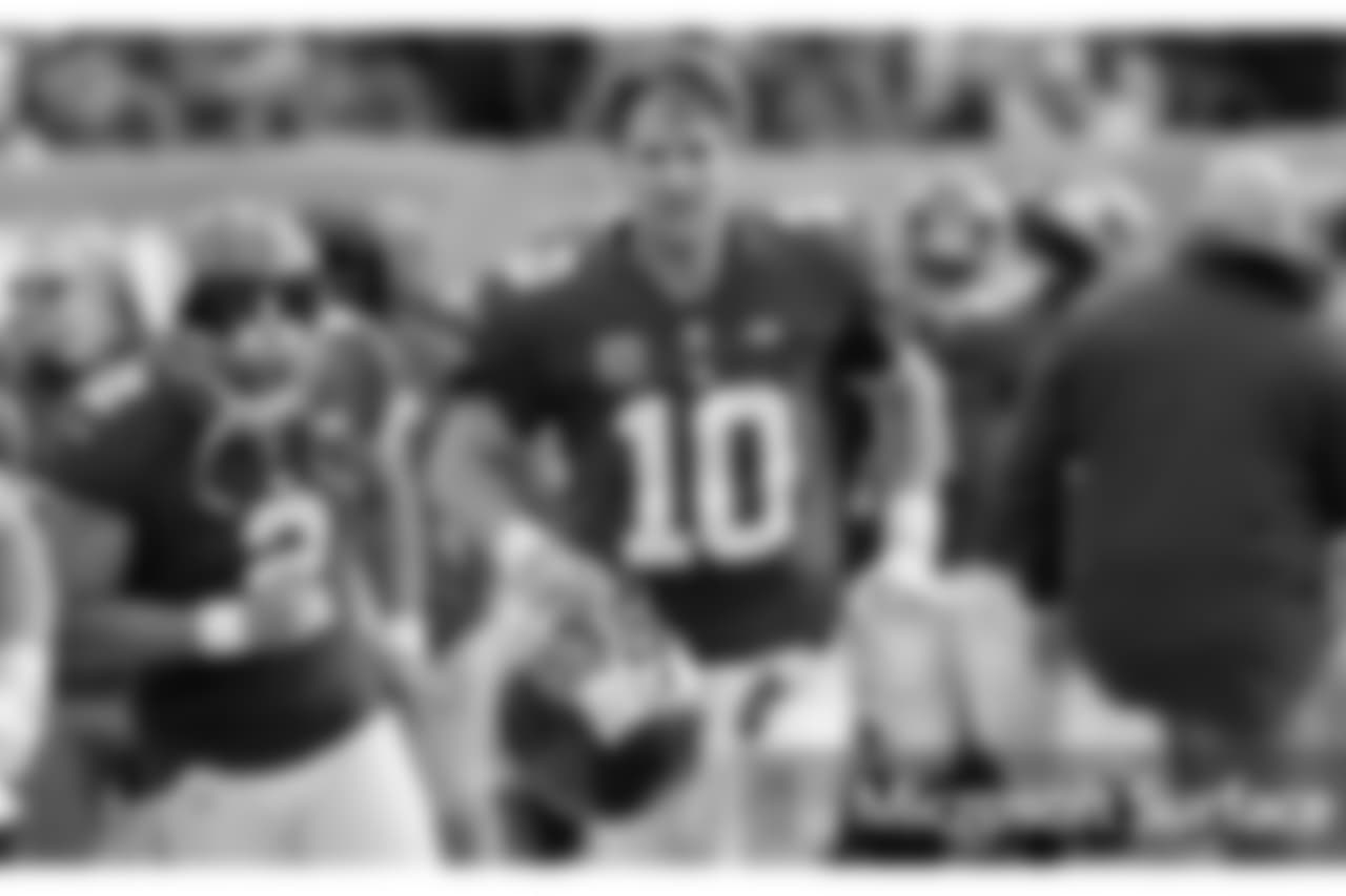 QB ELI MANNING The two-time Super Bowl MVP made his 209th consecutive regular-season start, breaking a tie with his brother, Peyton, for the second-longest streak by a quarterback in NFL history.