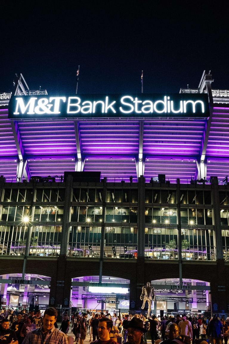 Mt Bank Stadium Information Baltimore Ravens Baltimoreravenscom