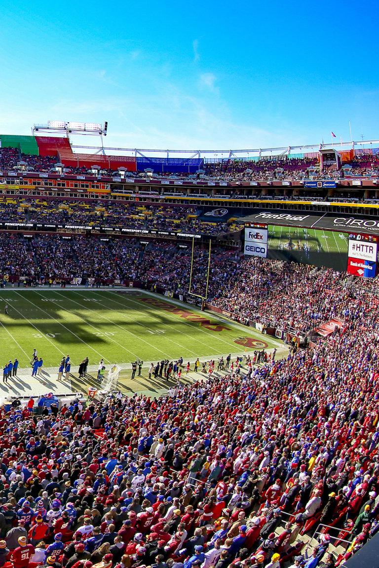 Texas Vs Maryland At Fedexfield Washington Redskins Redskins Com