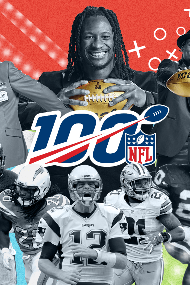 CELEBRATING 100 YEARS OF NFL FOOTBALL