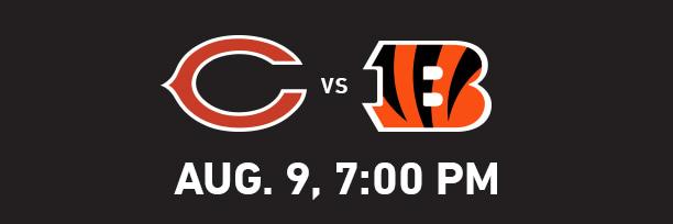 Chicago Bears at Cincinnati Bengals