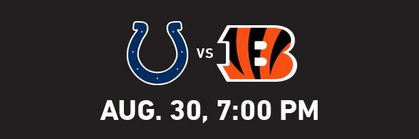 Indianapolis Colts at Cincinnati Bengals