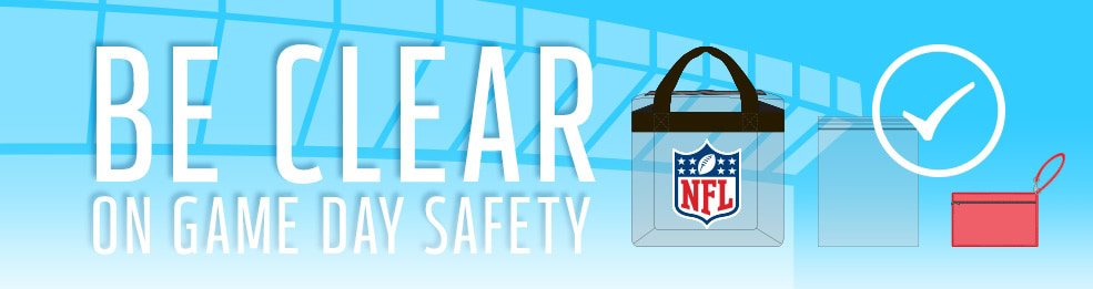 View NFL Clear Bag Policy