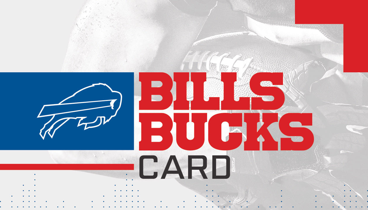 Bills Bucks Card