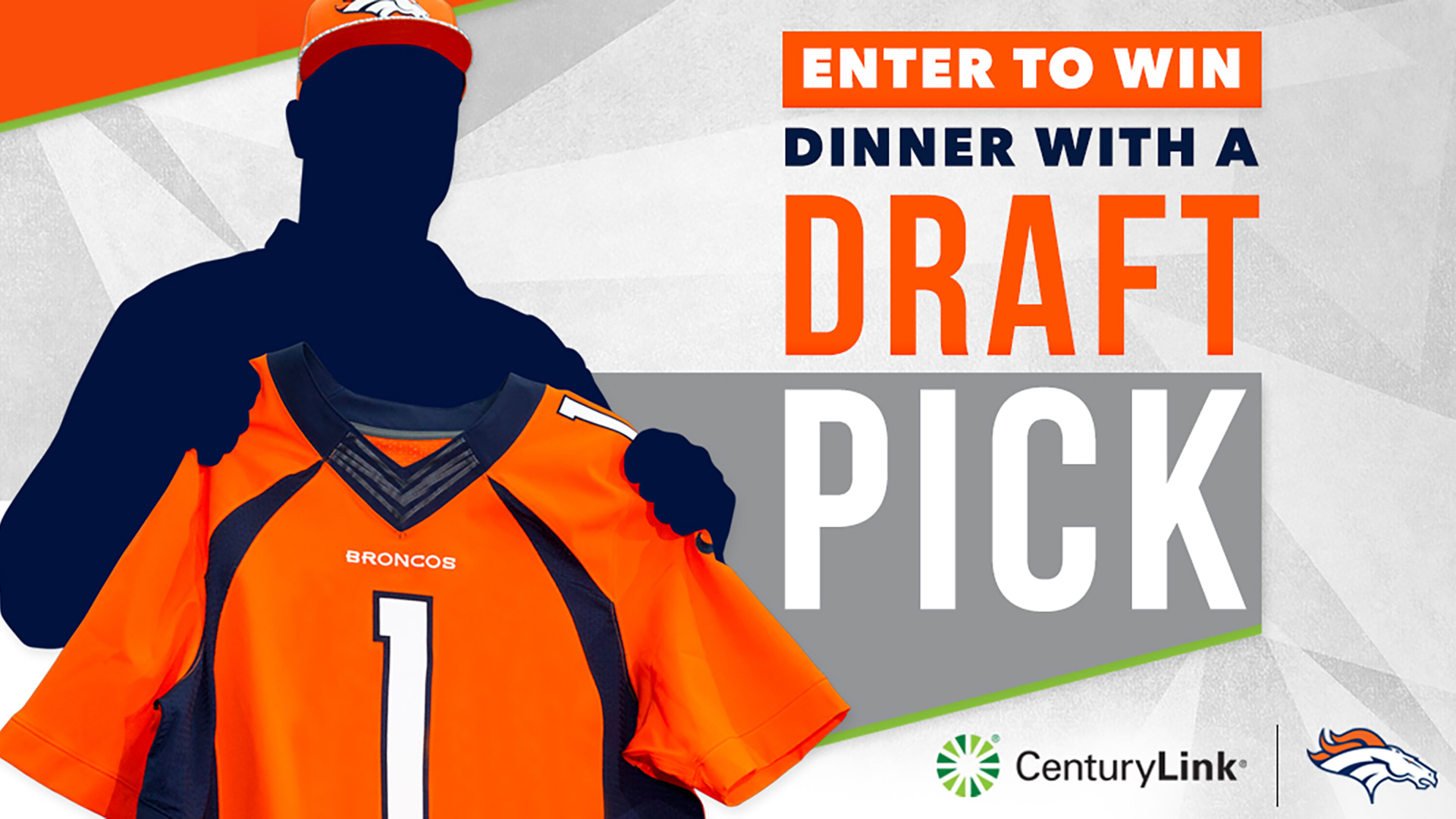 ENTER TO WIN DINNER WITH A DRAFT PICK!