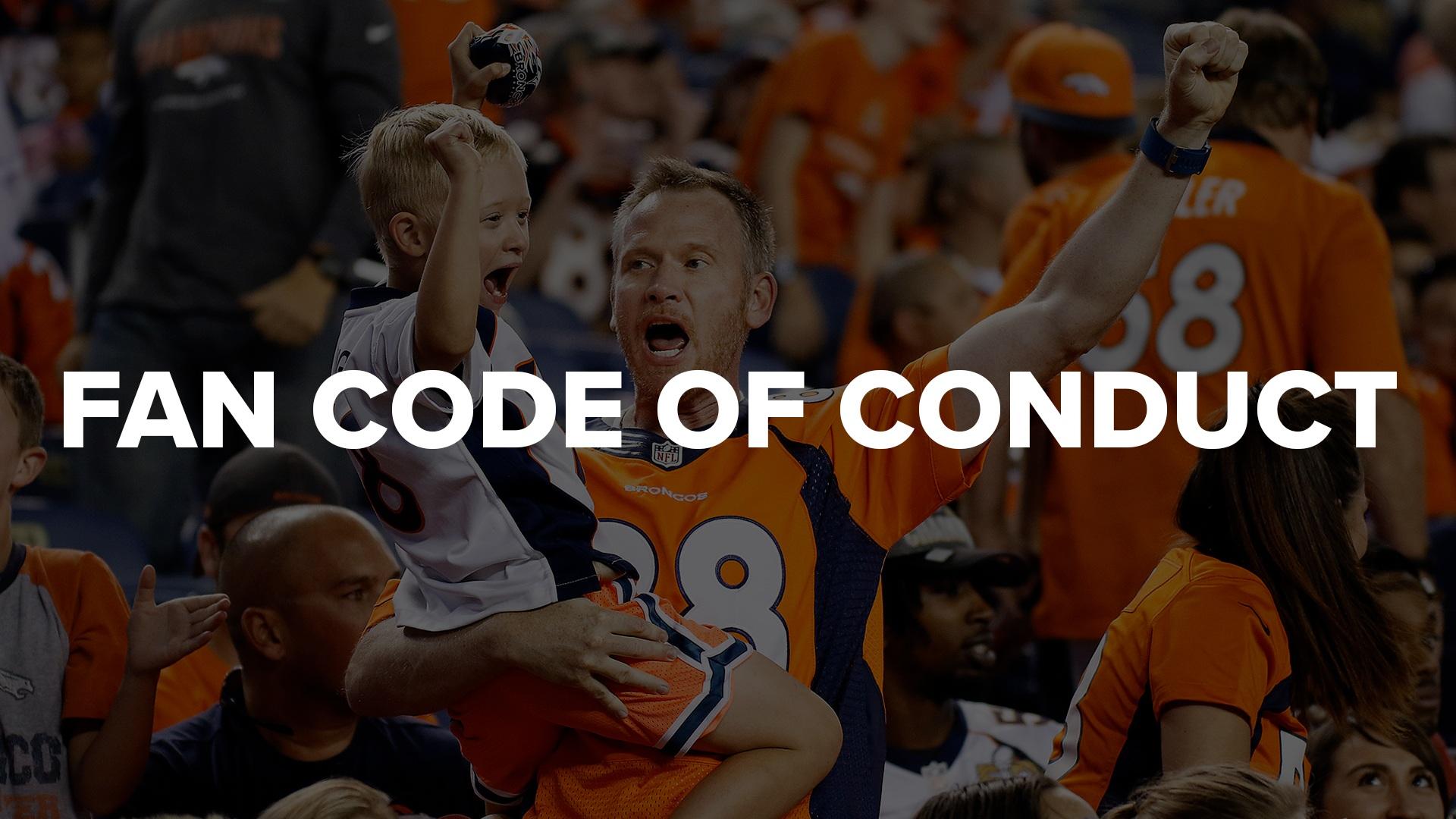 Fan Code of Conduct