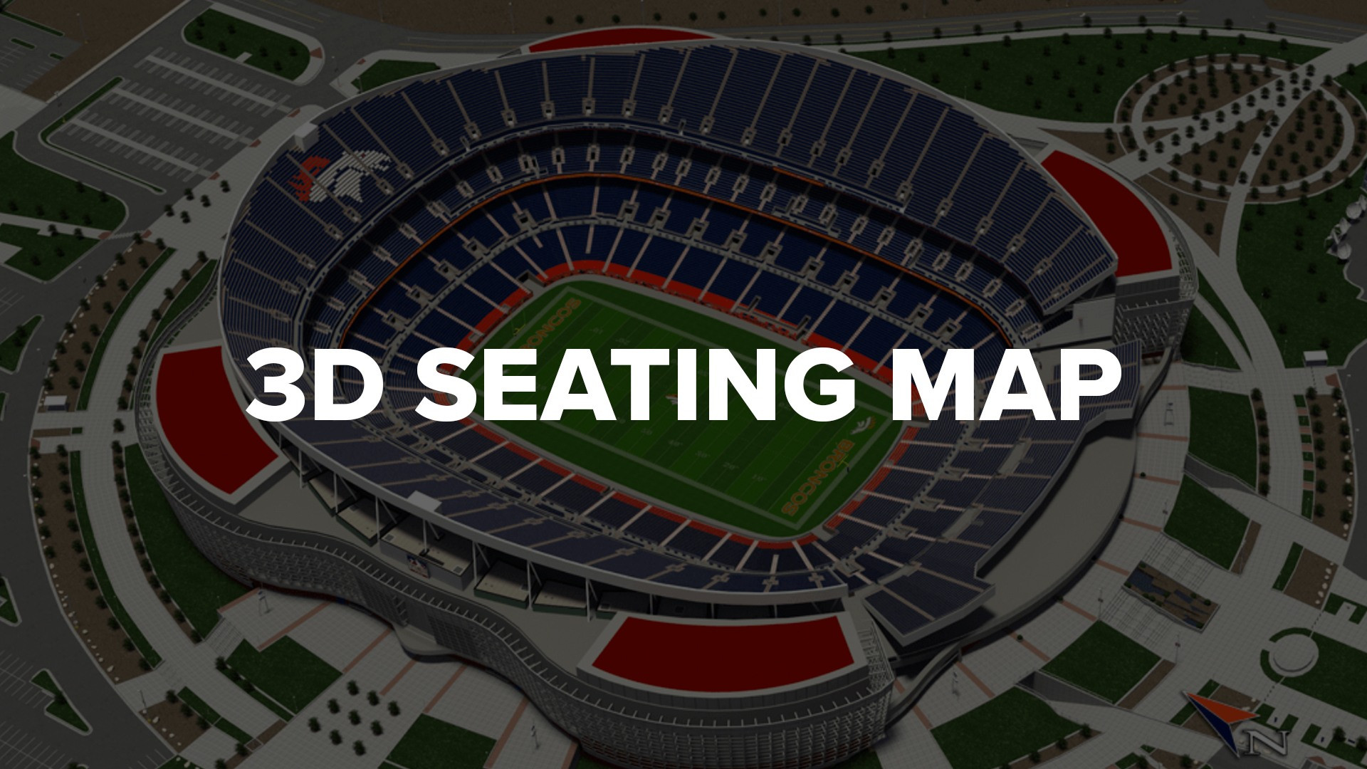 3D Seating Map