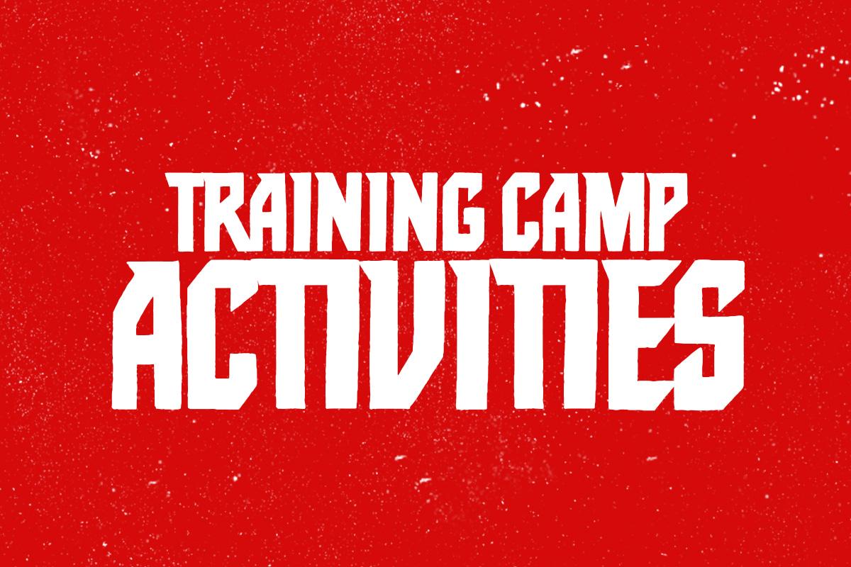 Training Camp Activities