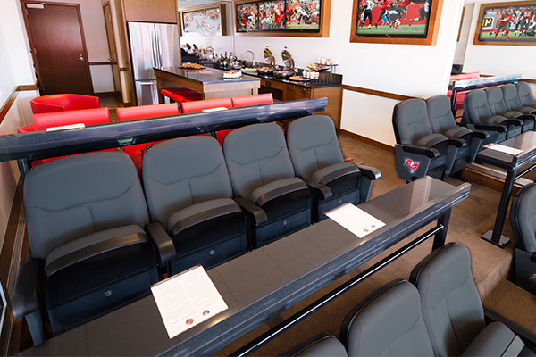 Luxury Suites and Hall of Fame Club