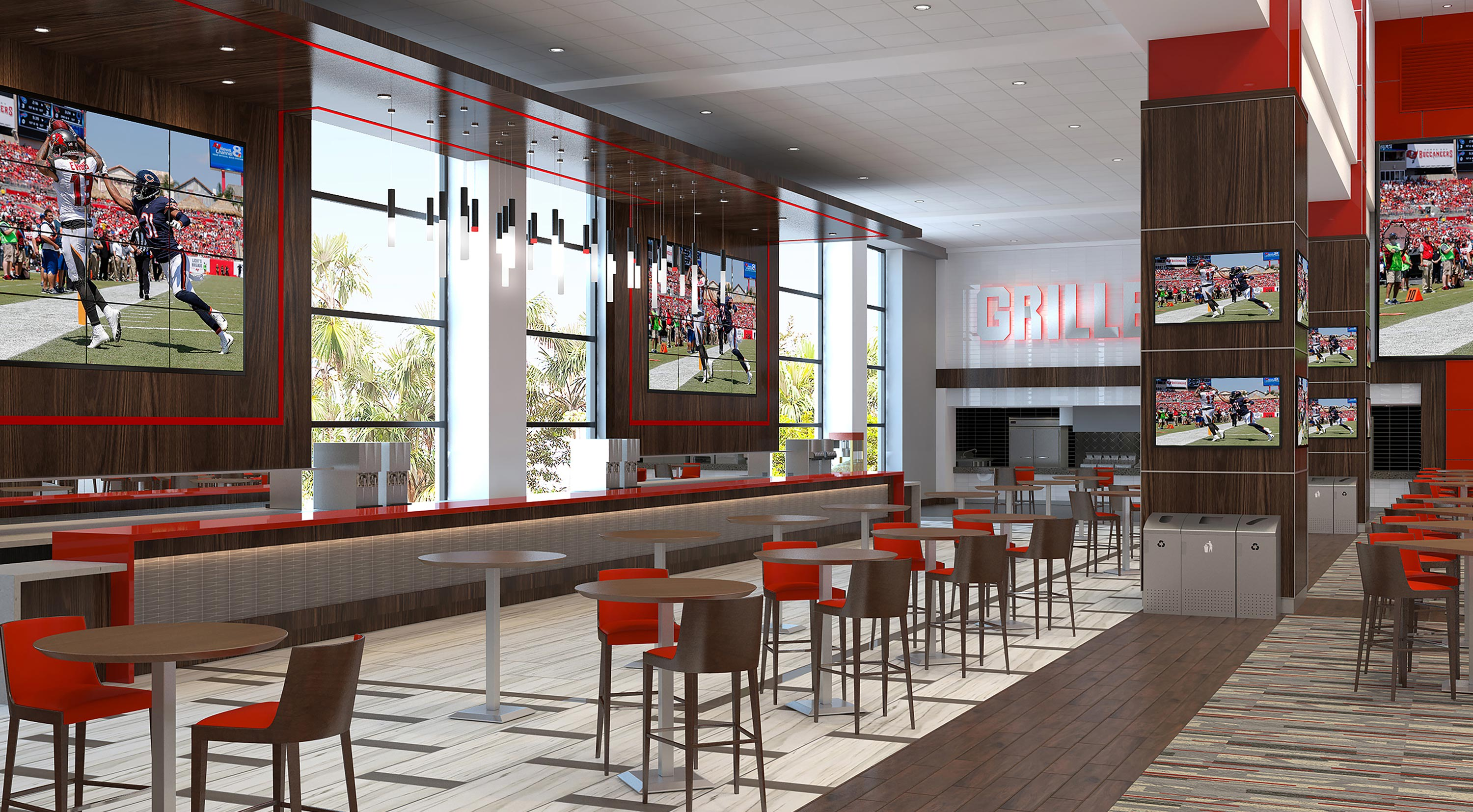 The East Stadium Club Provides A Fun And Enjoyable Atmosphere