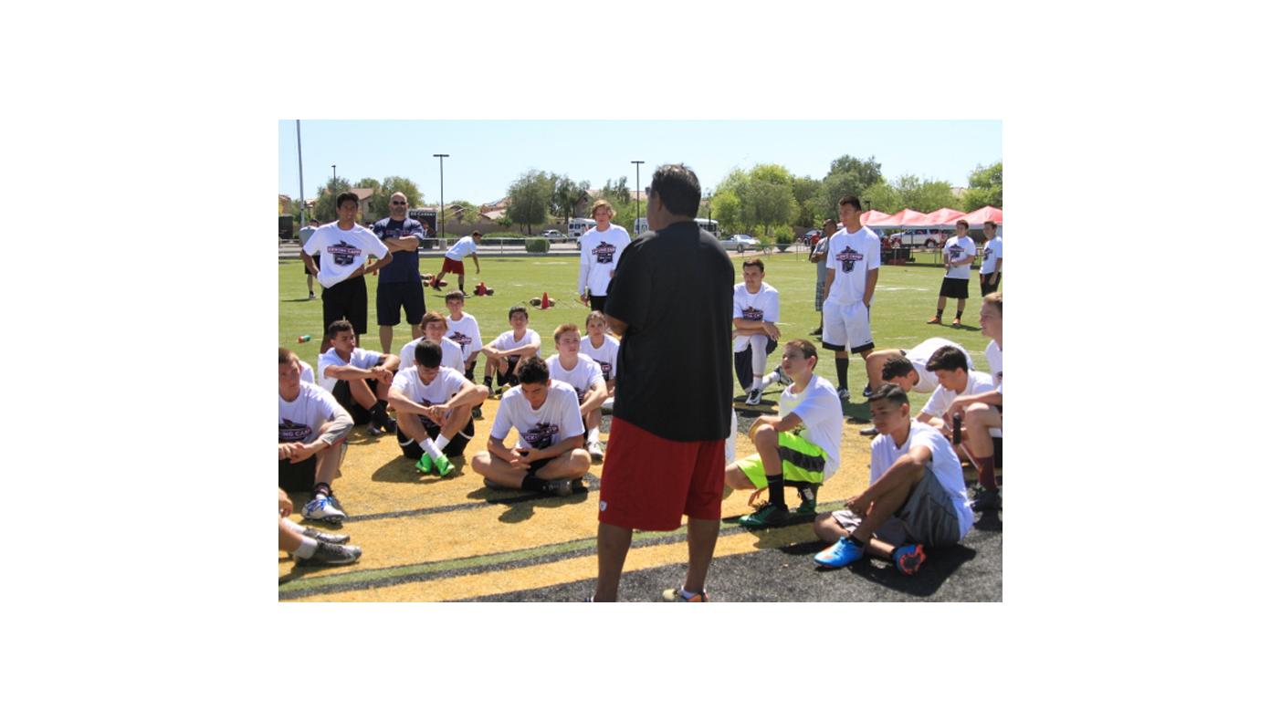 Cardinals Kicking, Punting and Snapping Camp
